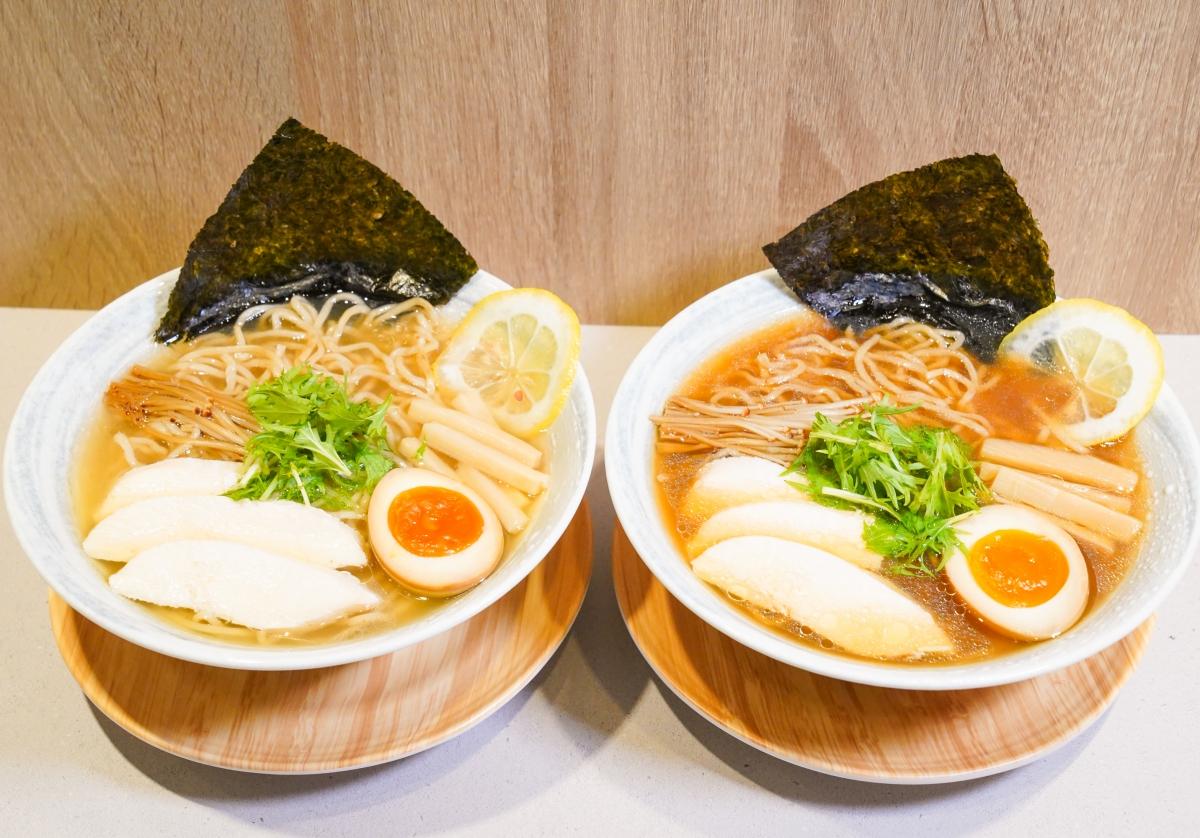 [高雄拉麵推薦]研田拉麵-期間限定!不輸東京AFURI的好吃柚子醬油、柚子鹽拉麵 @美食好芃友