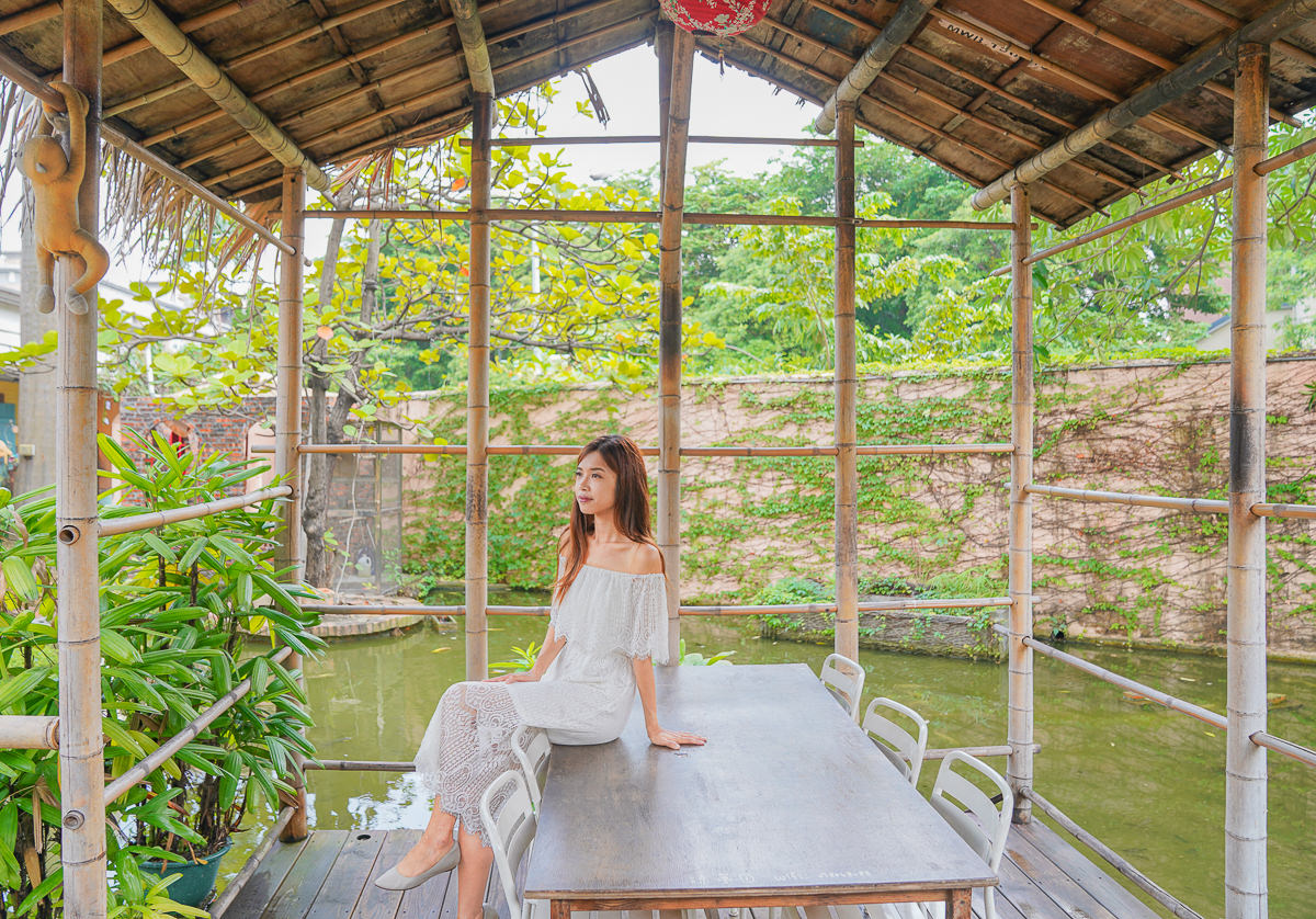 [高雄早午餐]奧斯汀人文咖啡-ig網美熱搜~藏在都市的峇里島渡假風格咖啡館 @美食好芃友