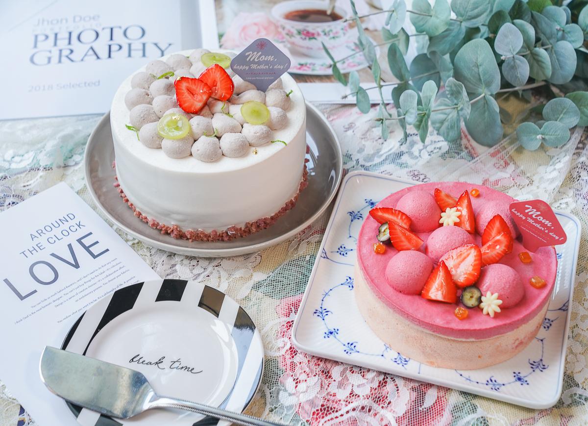 [高雄前金美食]晴晨Morning Sun Dessert-2020高雄母親節蛋糕推薦~花瓣芋泥布丁蛋糕x夢幻莓果慕斯蛋糕 @美食好芃友