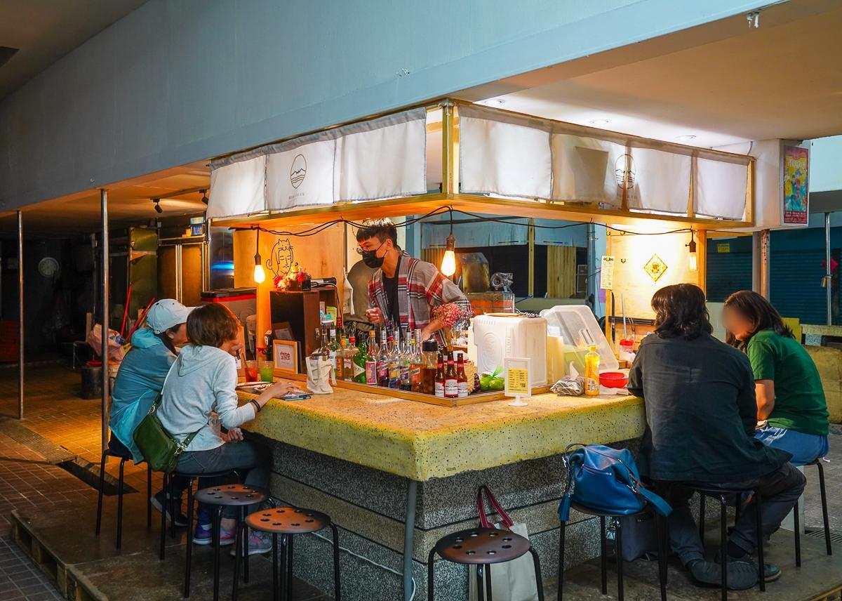 [高雄鹽埕美食]空腹虫-開在傳統市場的餐酒館!?超創意菜色x台式調酒 @美食好芃友