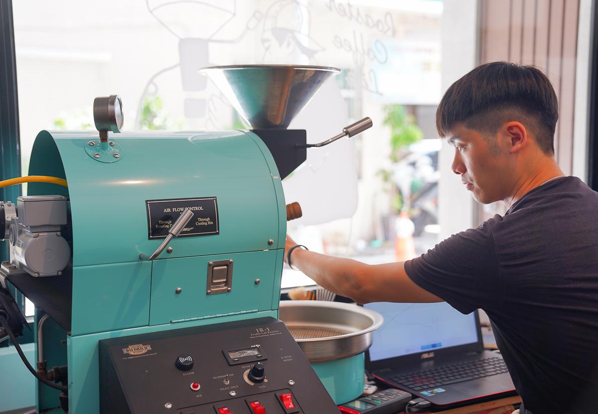 [高雄咖啡推薦]二木咖啡-高醫週邊文青必訪!日系清水模風格平價咖啡館 @美食好芃友