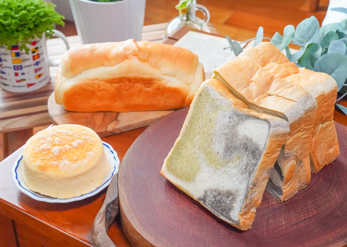 [高雄吐司推薦]米諾琪手作烘焙-上架搶購人氣手工烘焙~藝術品等級的好吃三色吐司! @美食好芃友