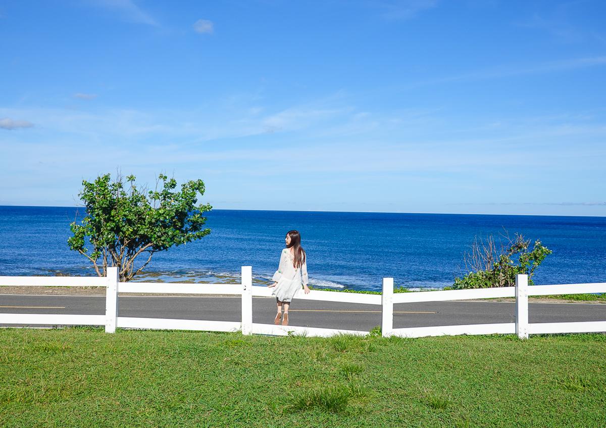 [墾丁海景住宿]Ocean Day by Day日日旅海-草皮x藍天x藍色太平洋的夢幻墾丁海景小屋 @美食好芃友