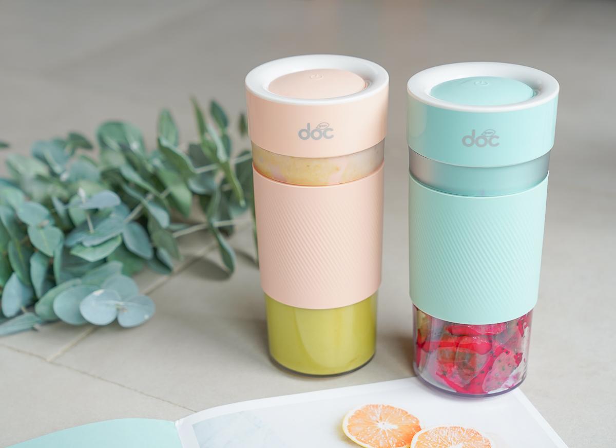 奧地利Doc Green輕享杯-最高規格隨行杯果汁機~USB充電超便利!想喝果汁隨時都可以 @美食好芃友