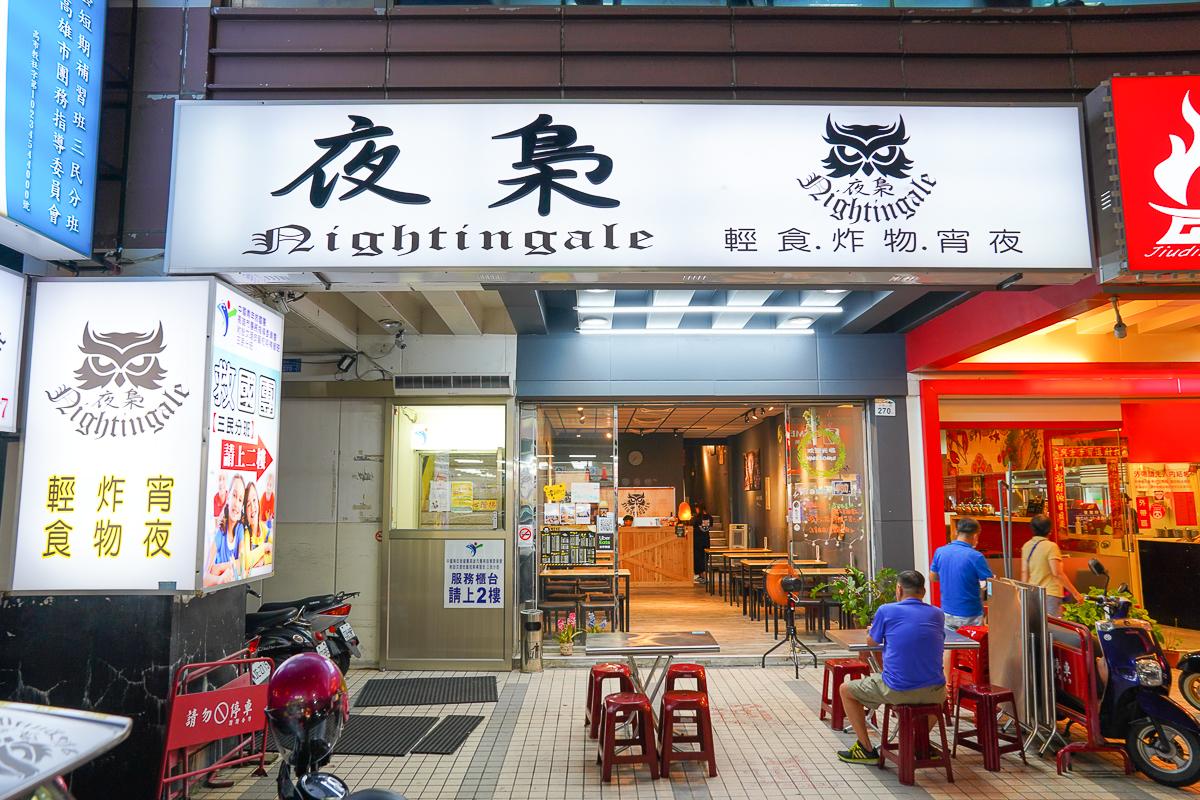 [高雄宵夜推薦]夜梟-晚餐開到凌晨的平價美食~必吃澎湃炒泡麵、脆皮蛋餅 @美食好芃友