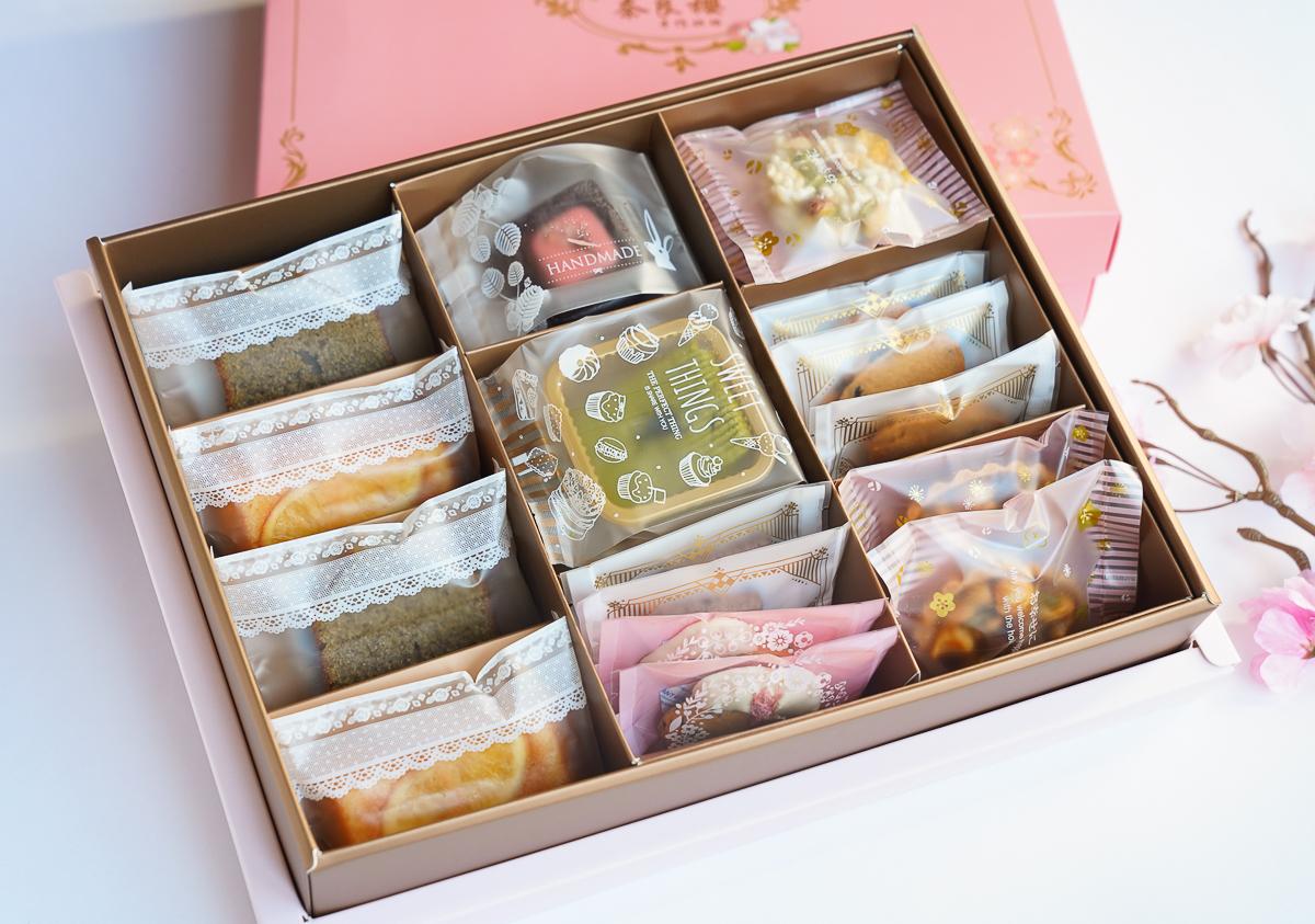 [高雄月餅推薦]奈良櫻手作烘焙-最強高雄流心蛋黃酥x粉色浪漫日式菓子月餅禮盒 @美食好芃友