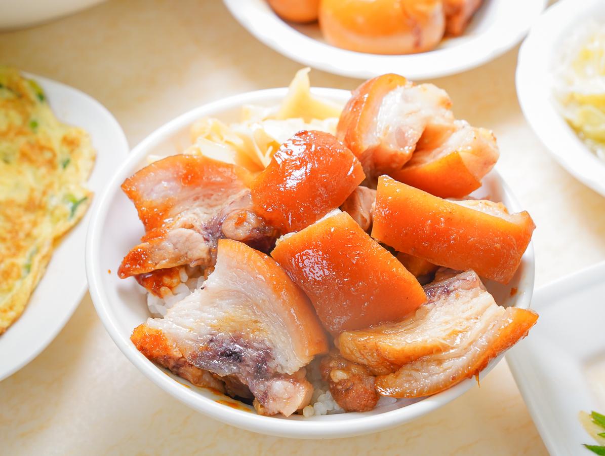 [高雄苓雅美食]品深海魚湯建國店-老牌高雄魚湯店賣厲害腿庫飯和豬腳麵線!? @美食好芃友