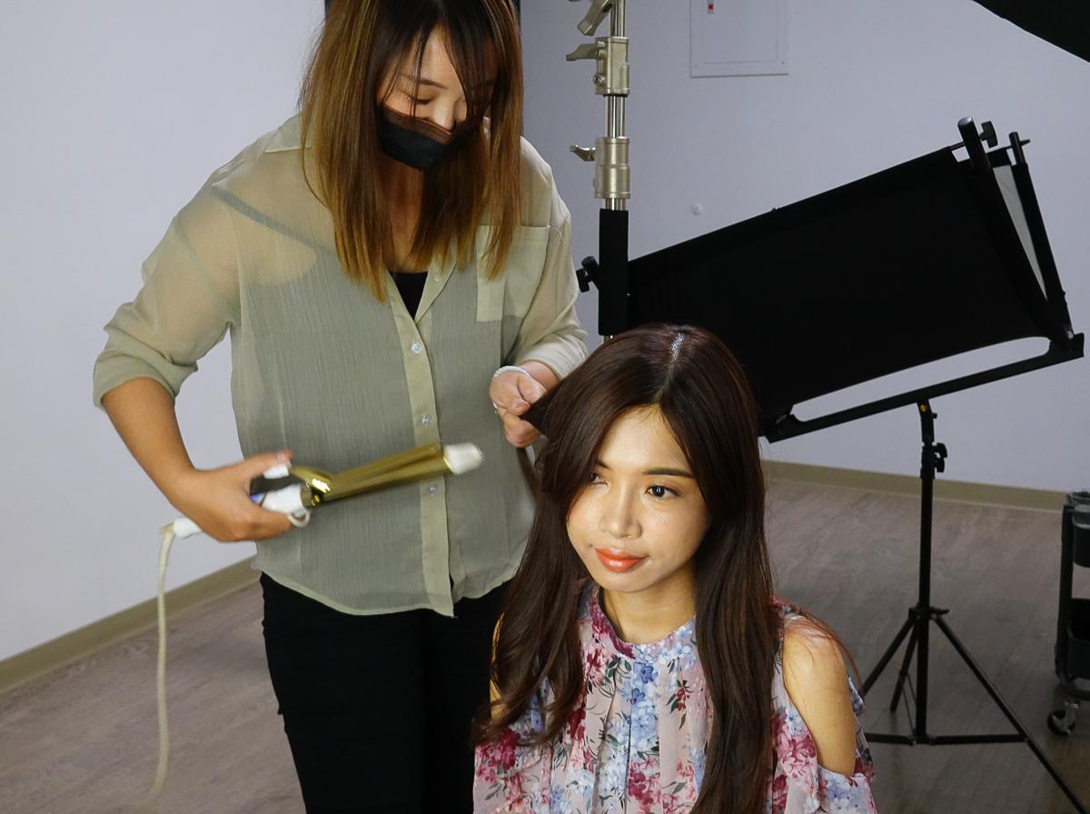 [高雄韓式證件照推薦]大頭大頭拍照不愁-女生最愛高雄證件照拍攝!平價妝髮升級你也來當歐膩 @美食好芃友