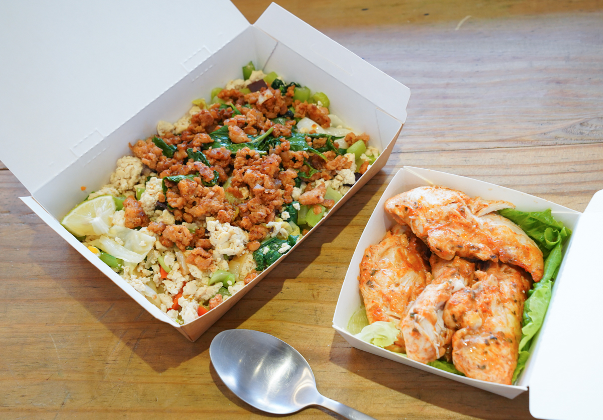 [高雄健康餐盒]艾波廚房-全國首創豆腐飯餐盒!健身增肌、生酮減醣大推薦 @美食好芃友