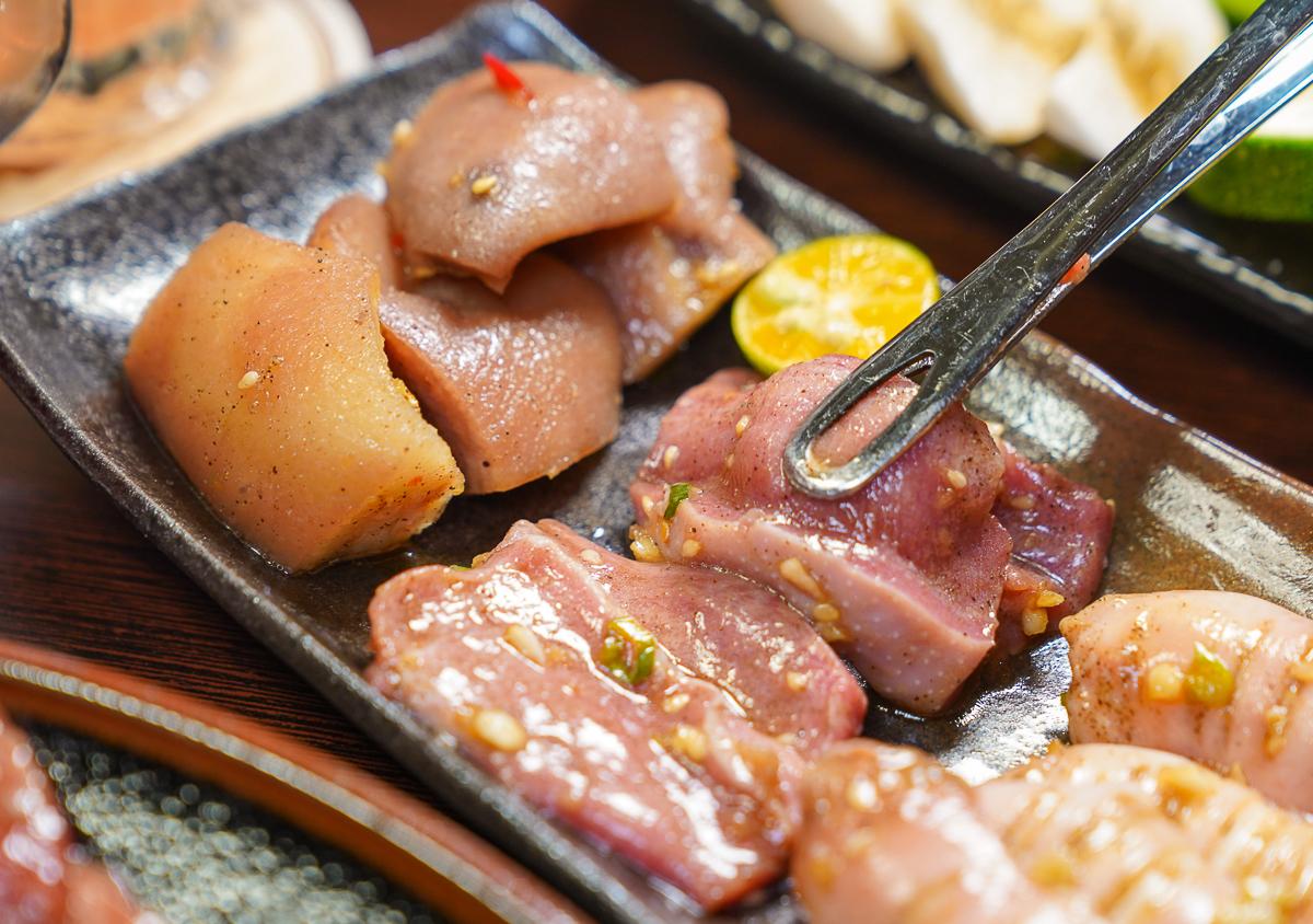 [高雄燒肉推薦]富治燒肉-玉竹商圈隱藏版高雄燒肉店!讚嘆好吃精緻日式單點燒肉~ @美食好芃友