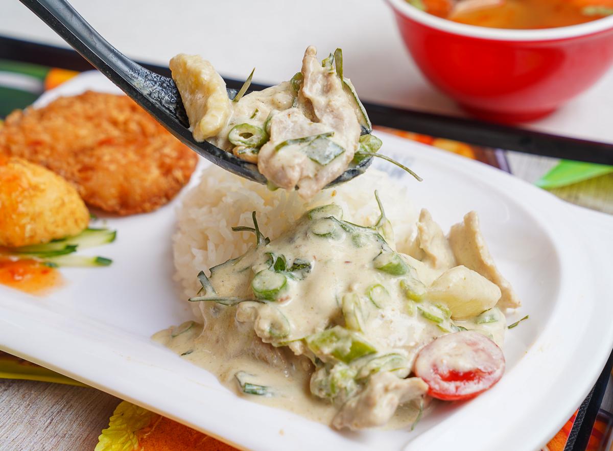 [高雄巨蛋美食]䳉泱宮泰式料理-什麼~百貨吃泰式套餐200有找!?曼谷最夯平價泰式料理品牌 @美食好芃友