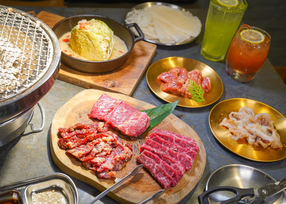 [高雄燒肉推薦]鹿燒肉屋-彩色貨櫃屋吃精品燒肉!老饕必點冷藏肉組合套餐 @美食好芃友