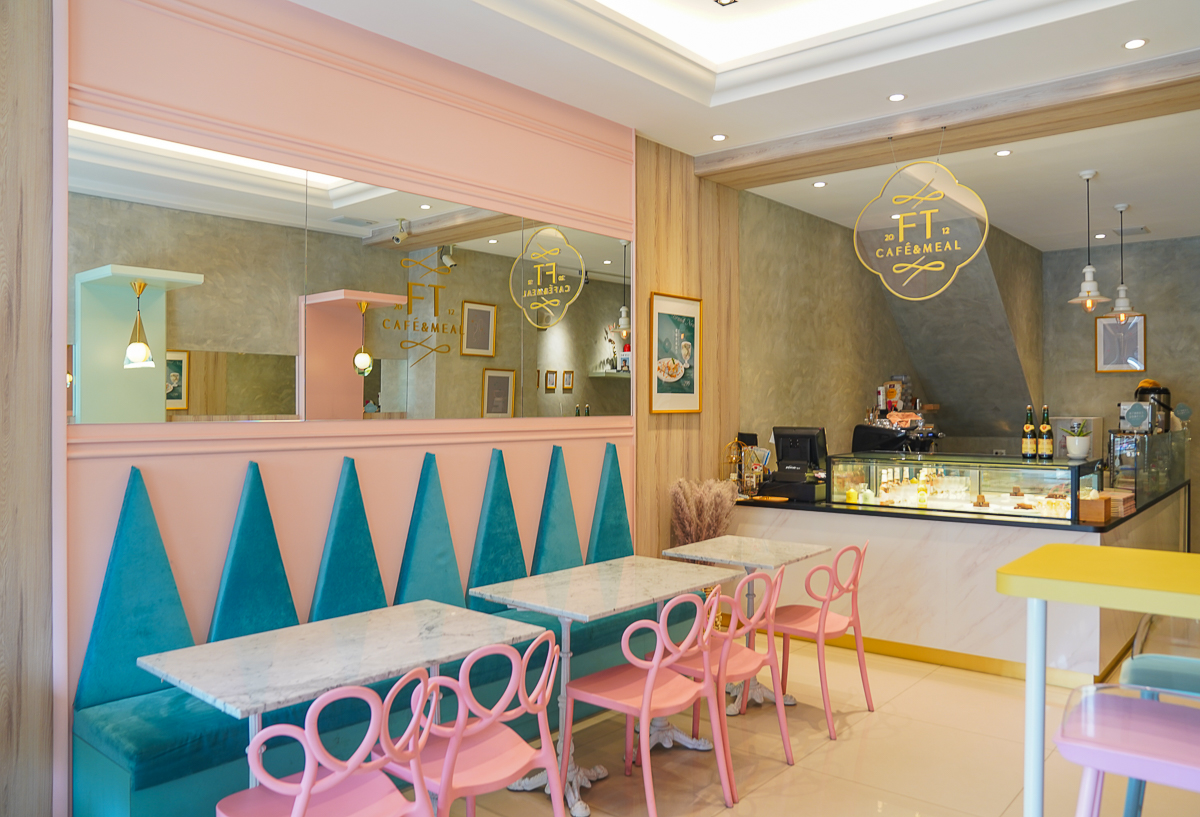 [高雄下午茶推薦]FT Café & Meal-一秒飛法國~經典法式薄餅專賣!還有甜薄餅桌邊火焰秀 @美食好芃友