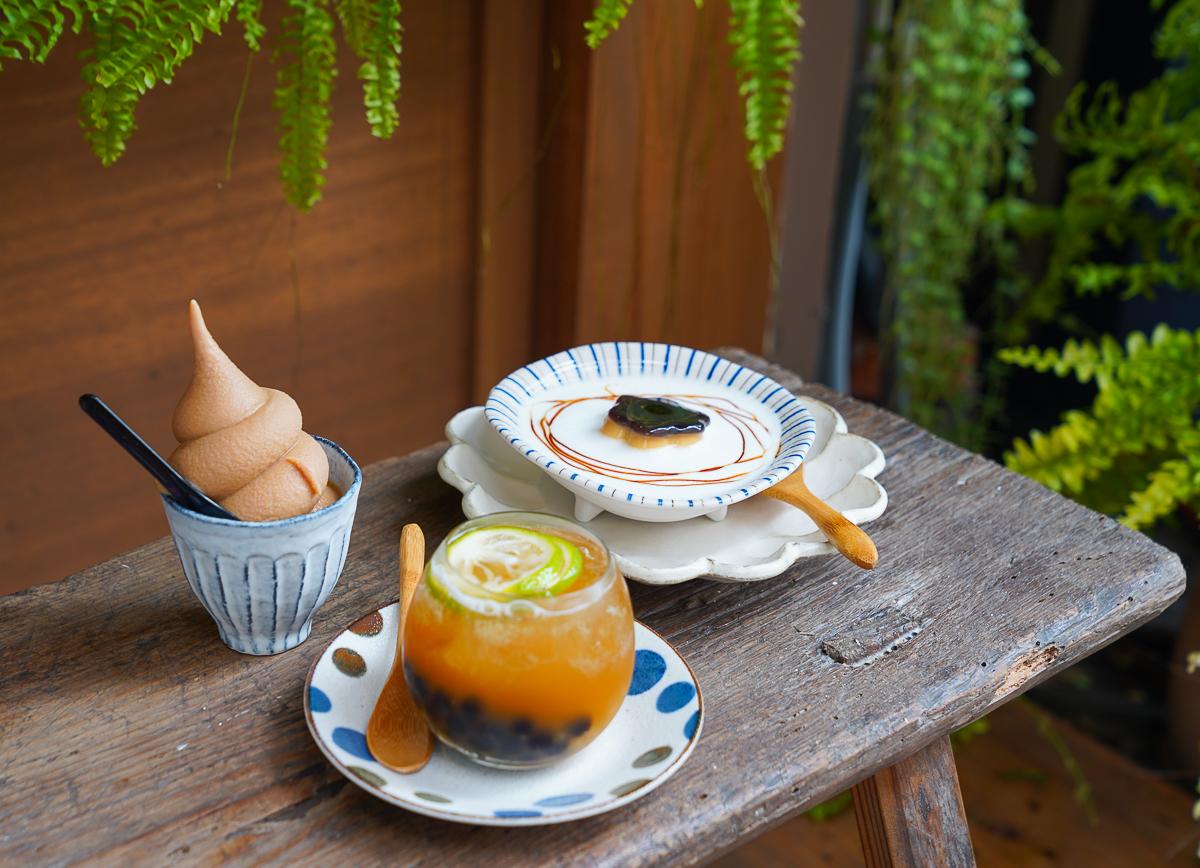 [高雄下午茶推薦]二 雄 じお-波哥茶飲3.0~平價日式文青風甜點茶飲店 @美食好芃友