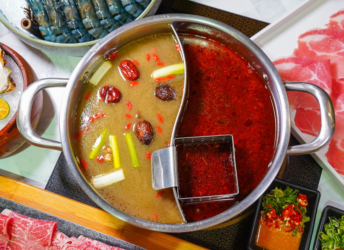 [台南]花花世界鍋物-被超狂和牛幸福淹沒吧~ig超夯情人約會台南火鍋店 @美食好芃友
