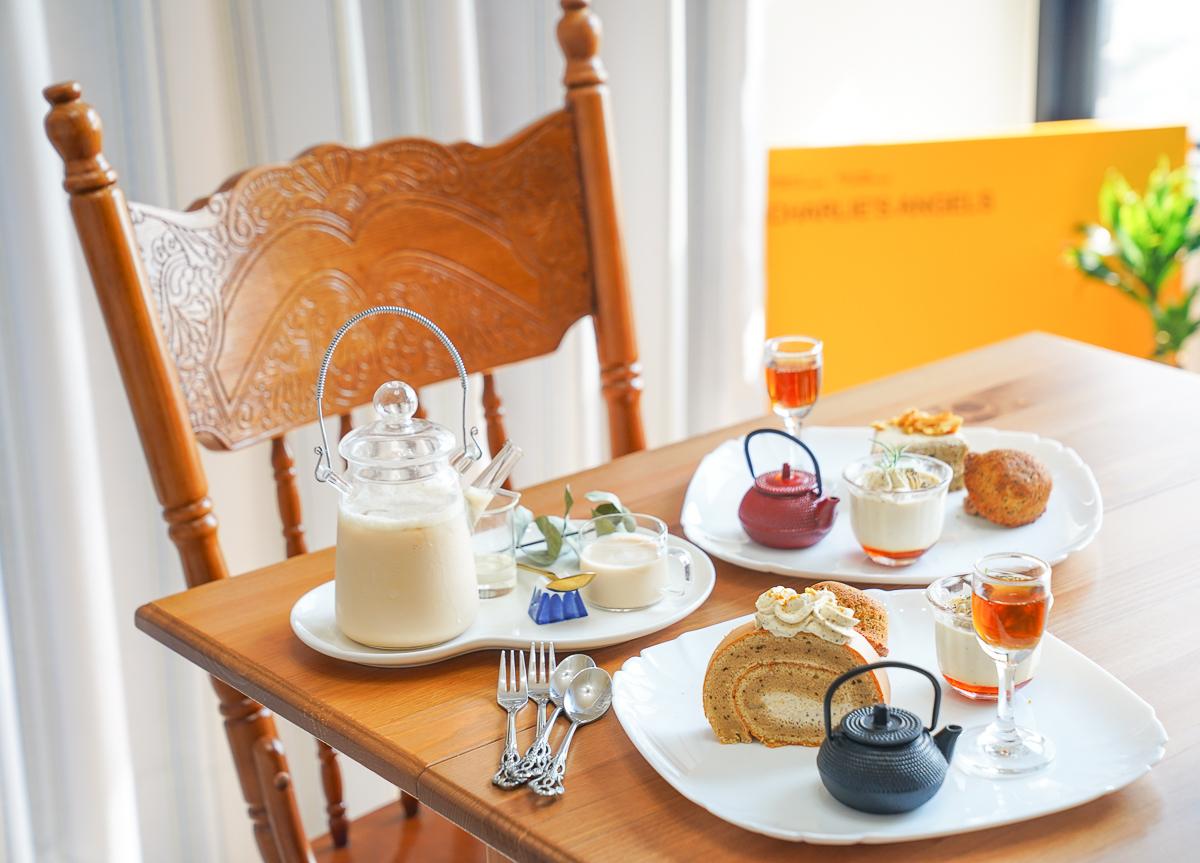 [高雄下午茶]客廳Living Room-預約制低調私宅手工甜點~每月限定的驚喜甜點盤 @美食好芃友