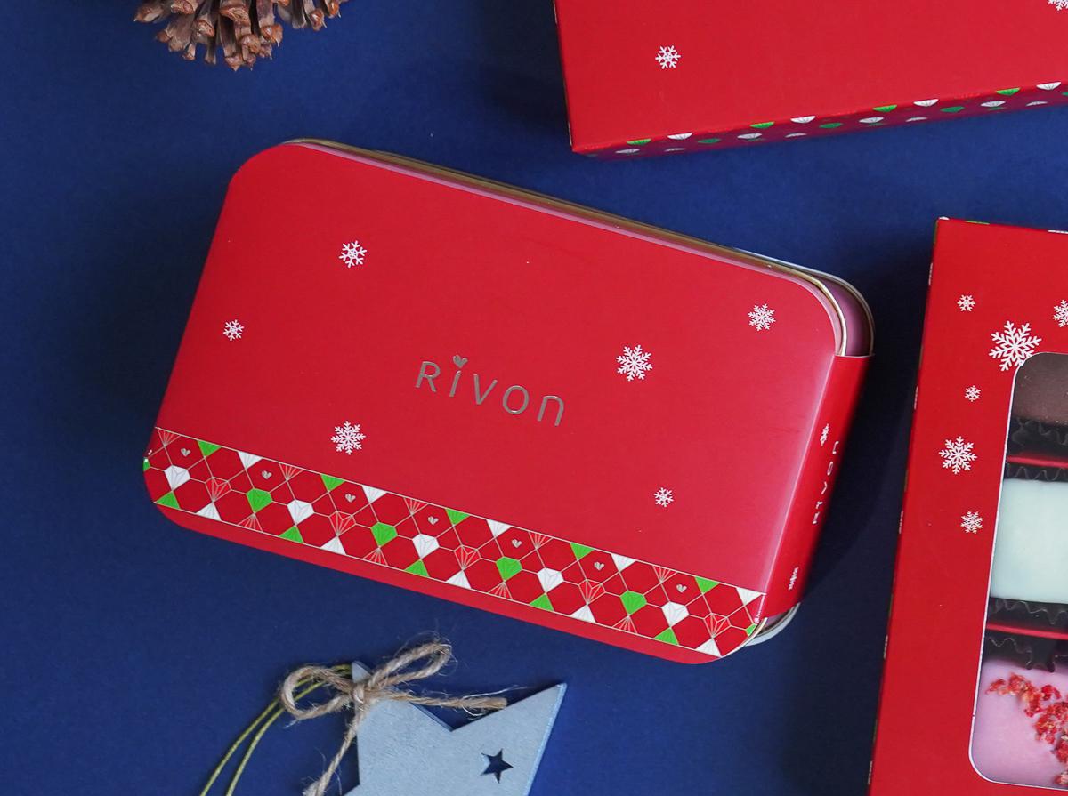 [聖誕交換禮物推薦]禮坊Rivon2020莓好聖誕禮盒~繽紛法式甜點甜你的口暖你的心 @美食好芃友