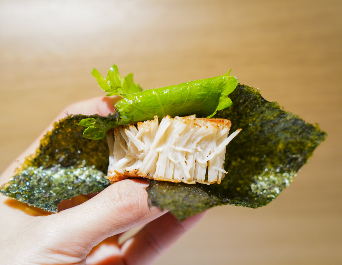 [高雄素食推薦]五郎時食-偽裝成魚肉的素食日式壽司無菜單!?超人氣創意高雄蔬食餐廳 @美食好芃友