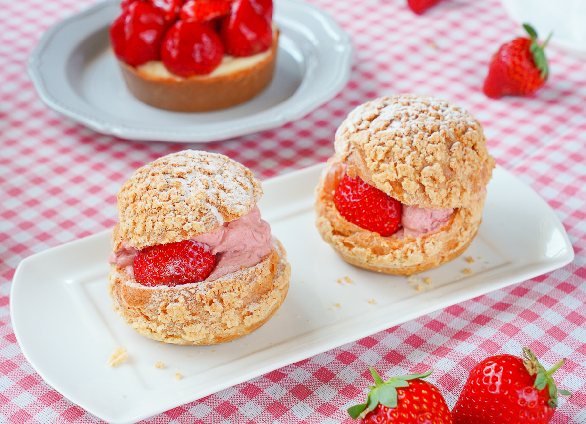 [高雄草莓蛋糕推薦]魯道芙蓬鬆手作烘培-草莓大爆發~誇張澎湃草莓乳酪塔!每日直送大湖草莓 @美食好芃友