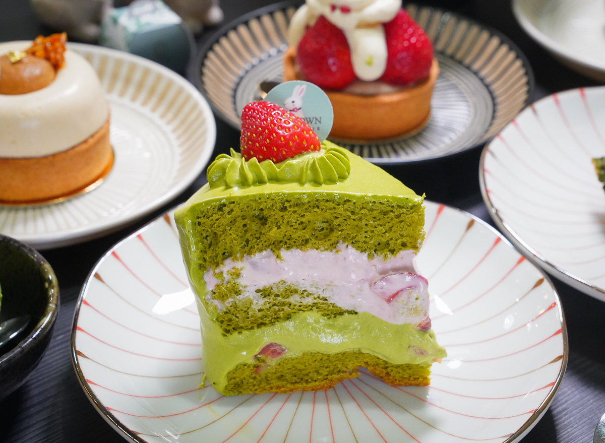 [高雄]兔思糖法式甜點-濃系厚小山園抹茶法式甜點!七年級法國藍帶甜點師超強手藝 @美食好芃友