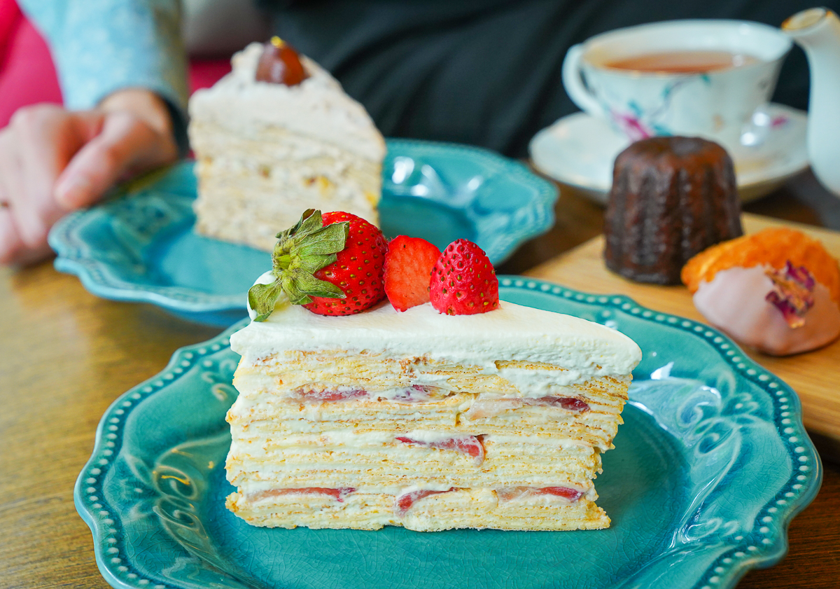 [高雄]法式小珊蒂Chez Sandi-超道地甜鹹法式薄餅x法式千層蛋糕~品嘗法國家常味 @美食好芃友