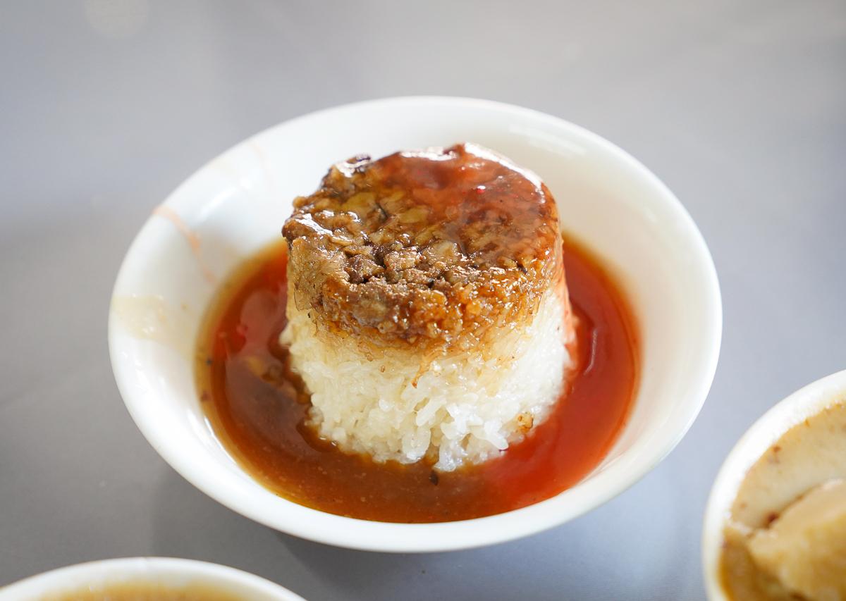 [嘉義美食]華南碗粿-一賣一甲子!嘉義東市場在地人早餐~樸實碗粿超好吃 @美食好芃友