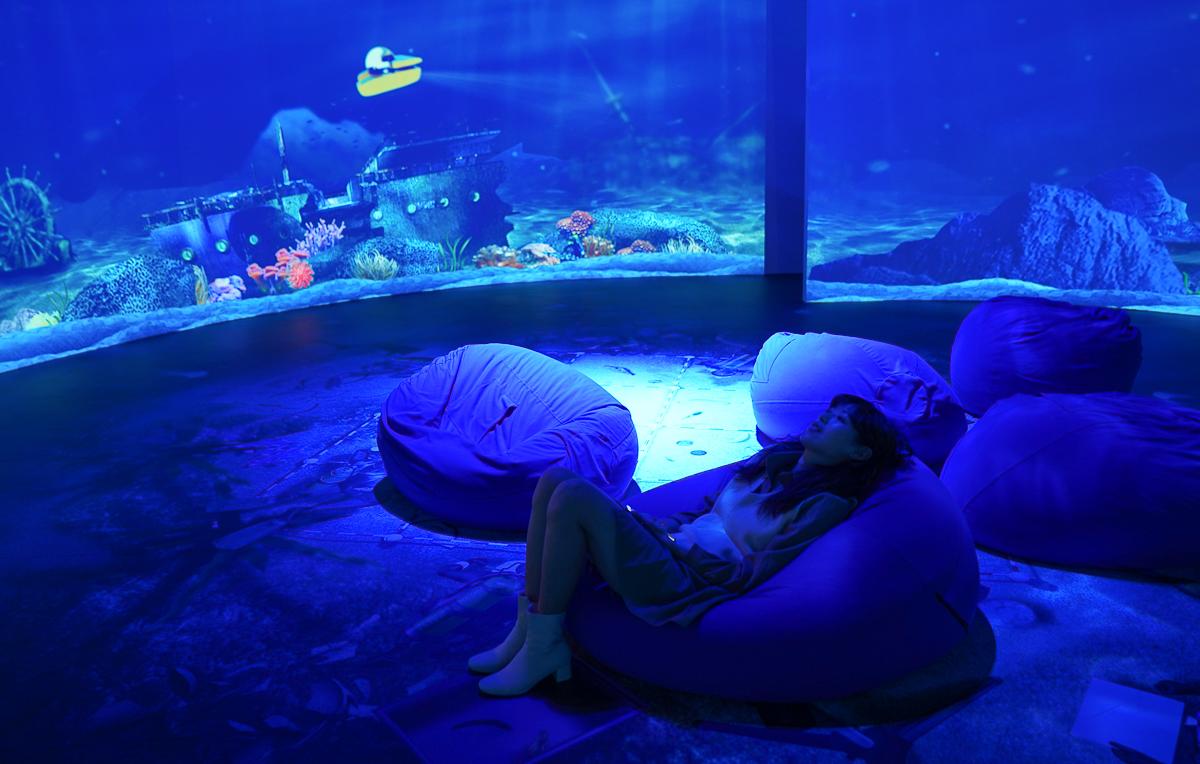 [高雄]超浪漫蔚藍水下世界~科工館「藏水覓趣」水下文化資產多媒體互動特展 @美食好芃友