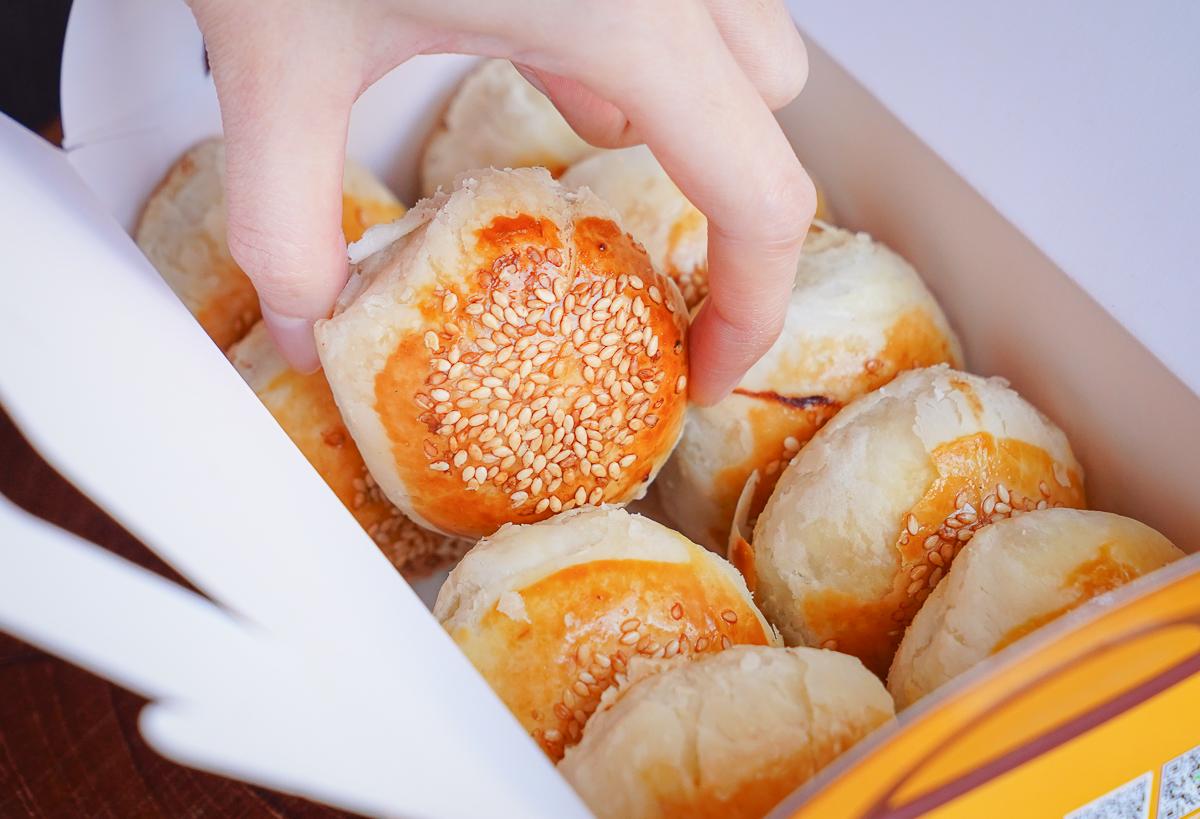 [左營燒餅推薦]文記左營上海蘿蔔酥餅-30年左營眷村美味!入口即化好吃蘿蔔絲酥餅 @美食好芃友