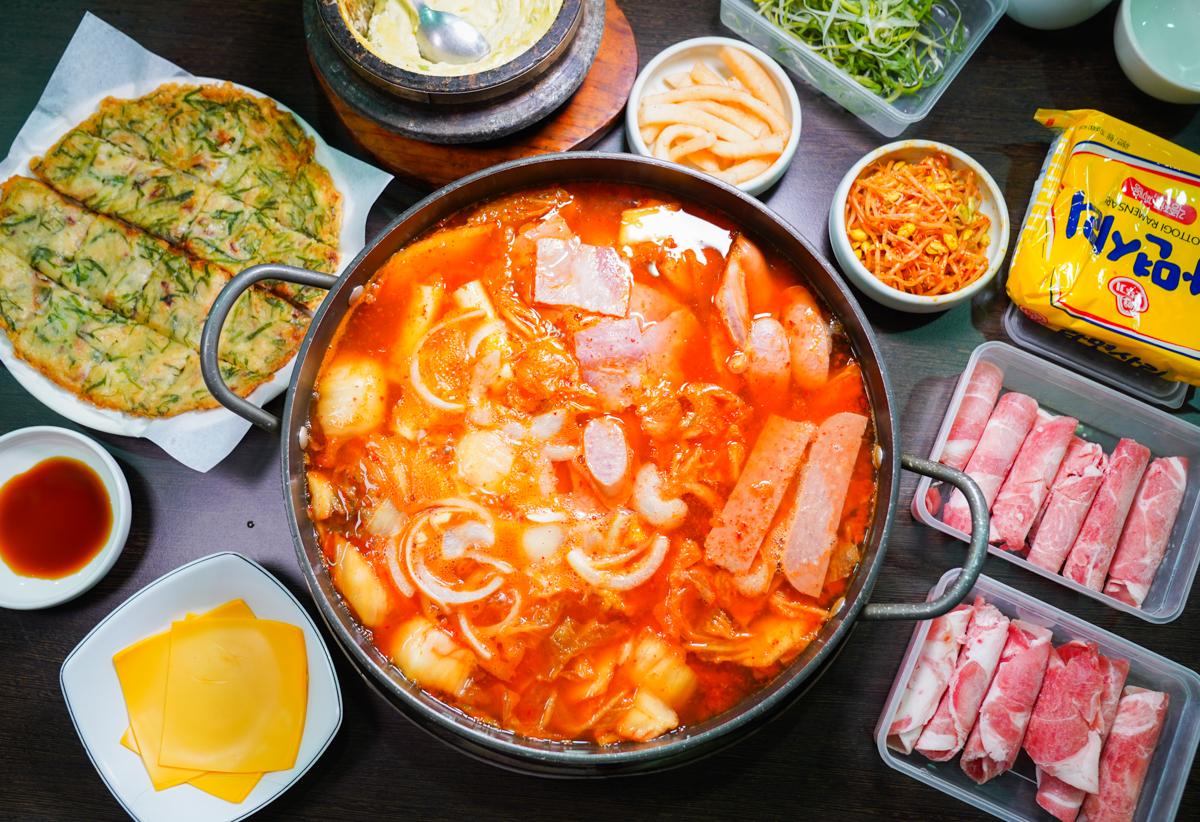 [高雄火鍋吃到飽]韓國先生-超高C/P值!199元道地韓式部隊鍋湯底加料無限吃 @美食好芃友