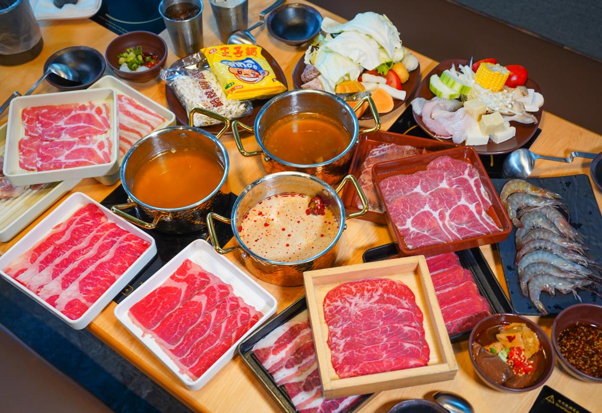 [高雄]樁涮 HOT POT-最美高雄個人鍋吃到飽~458元起肉盤吃到飽+自助吧牛丼、鴨血、飲料甜點無限吃 @美食好芃友