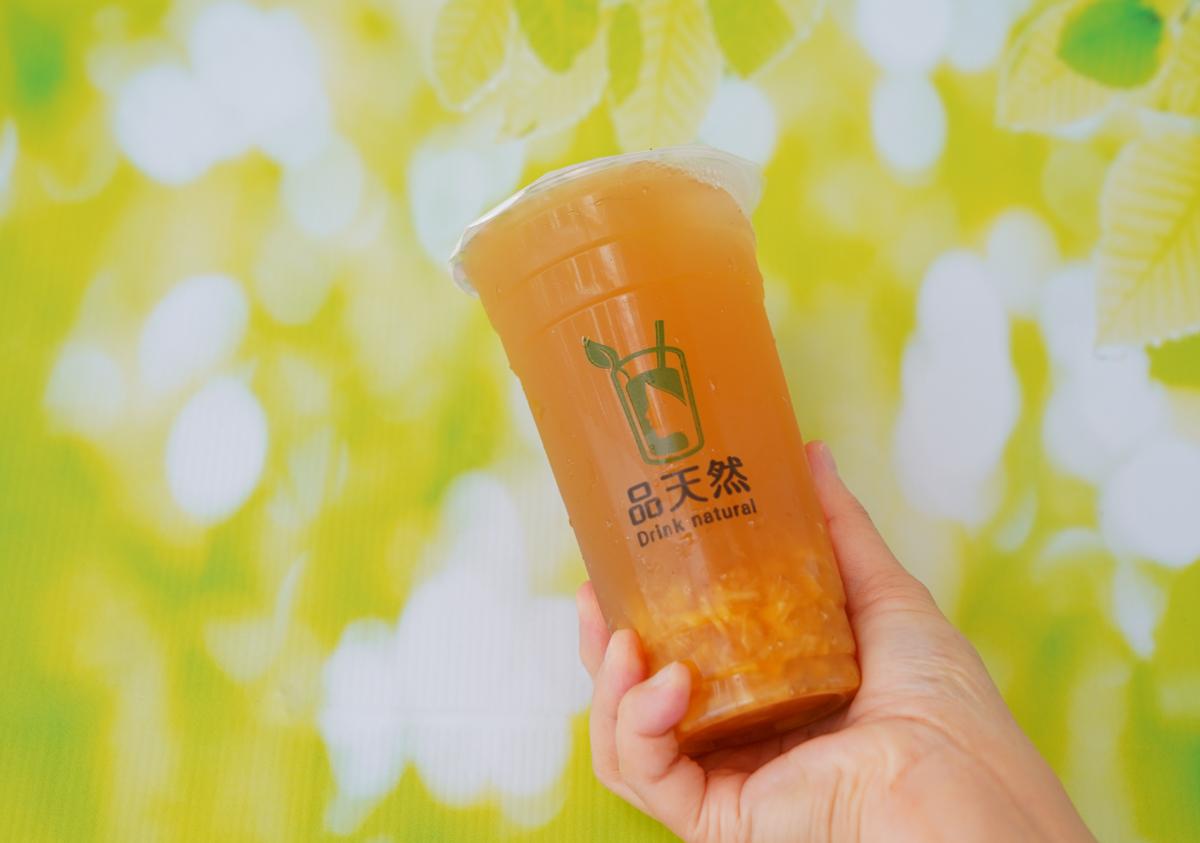 [高雄手搖飲推薦]品天然-高雄唯一不加糖也會甜的零卡紅茶~好吃洛神愛玉粉角飲「紅寶石洛神」大推 @美食好芃友