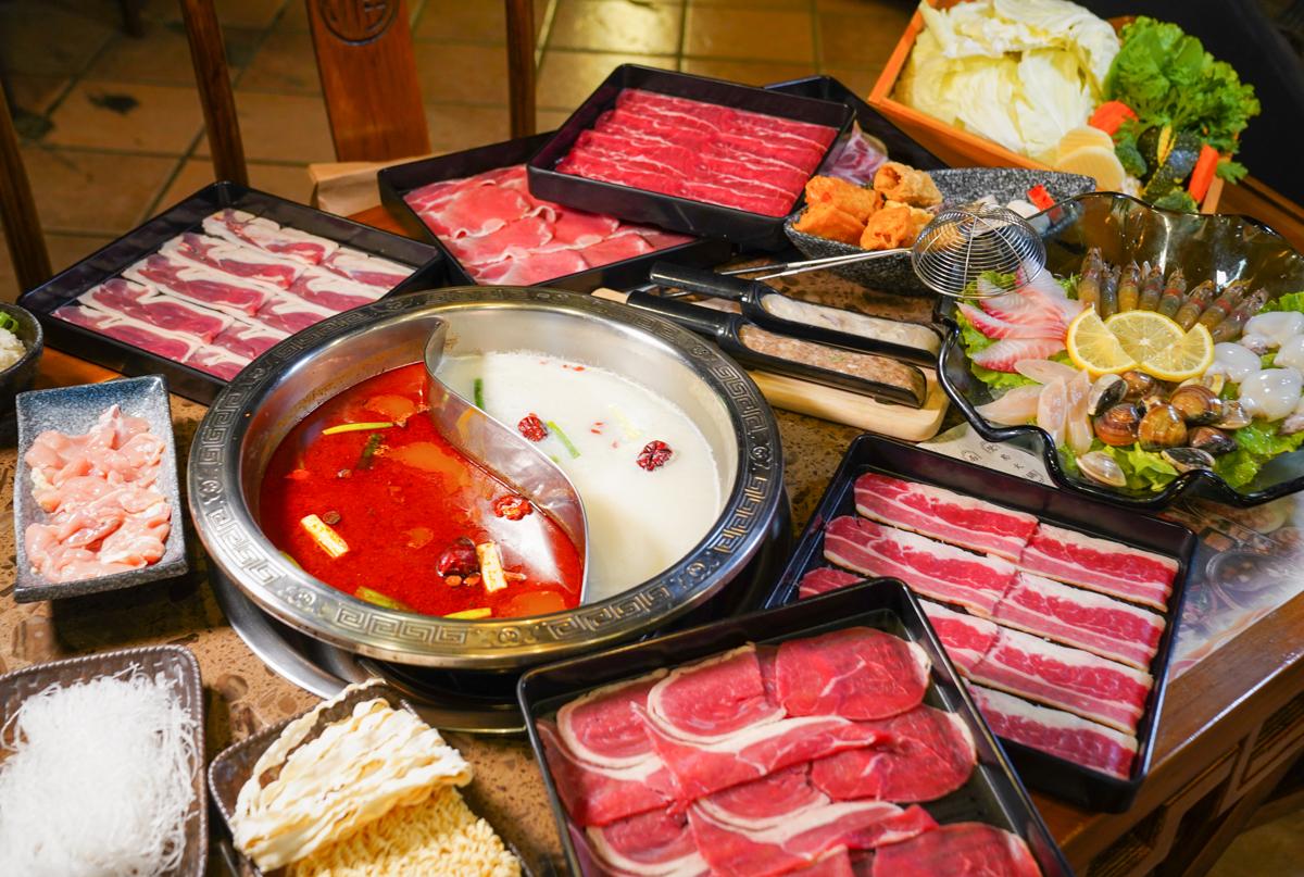 [高雄火鍋吃到飽]陶公坊火鍋-一人499元有7種肉盤、蔬菜盤、火鍋料無限吃,兩人以上還送海鮮盤 @美食好芃友