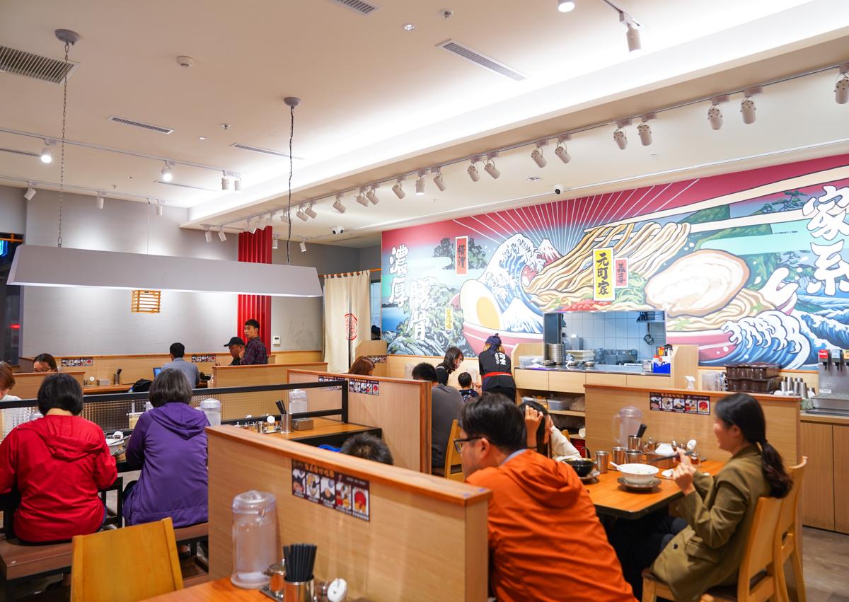 [高雄]元町家橫濱家系拉麵3號店-濃郁豚骨x爆多蔥青蔥拉麵!義享天地美食推薦 @美食好芃友
