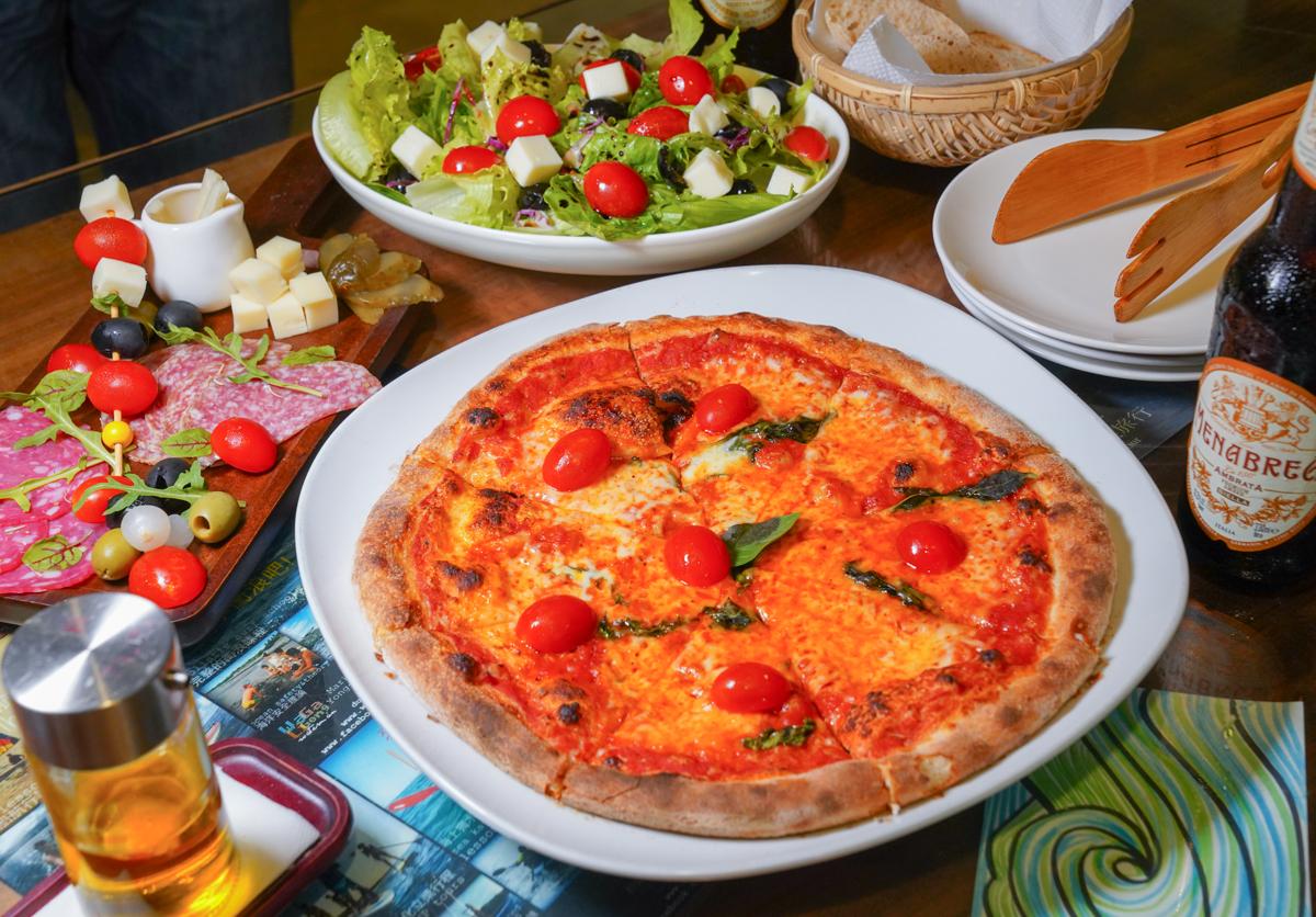 [台東美食推薦]都蘭義大利披薩Dulan A Mano Pizza-一秒到歐洲~超有情調好吃義式pizza店 @美食好芃友
