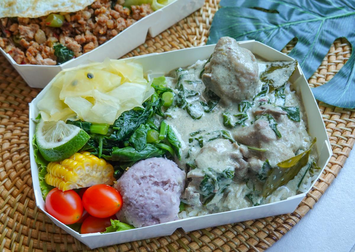[左營美食推薦]檸檬葉泰式料理-道地好吃銅板價泰式料理餐盒~超夯龍華市場外帶美食 @美食好芃友