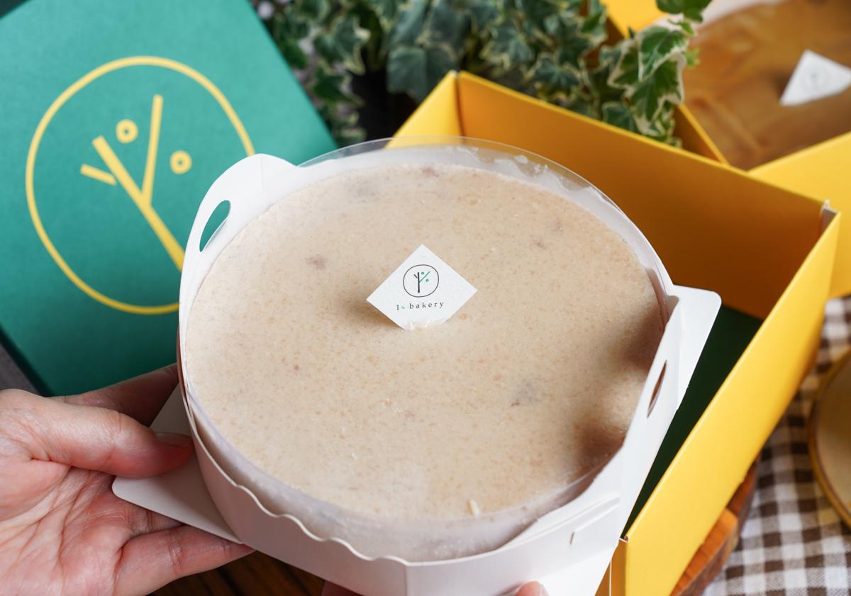 [宅配美食]神級芋頭乳酪蛋糕1%bakery-必吃特濃芋頭+濃烤香草布丁重乳酪療癒組合 @美食好芃友