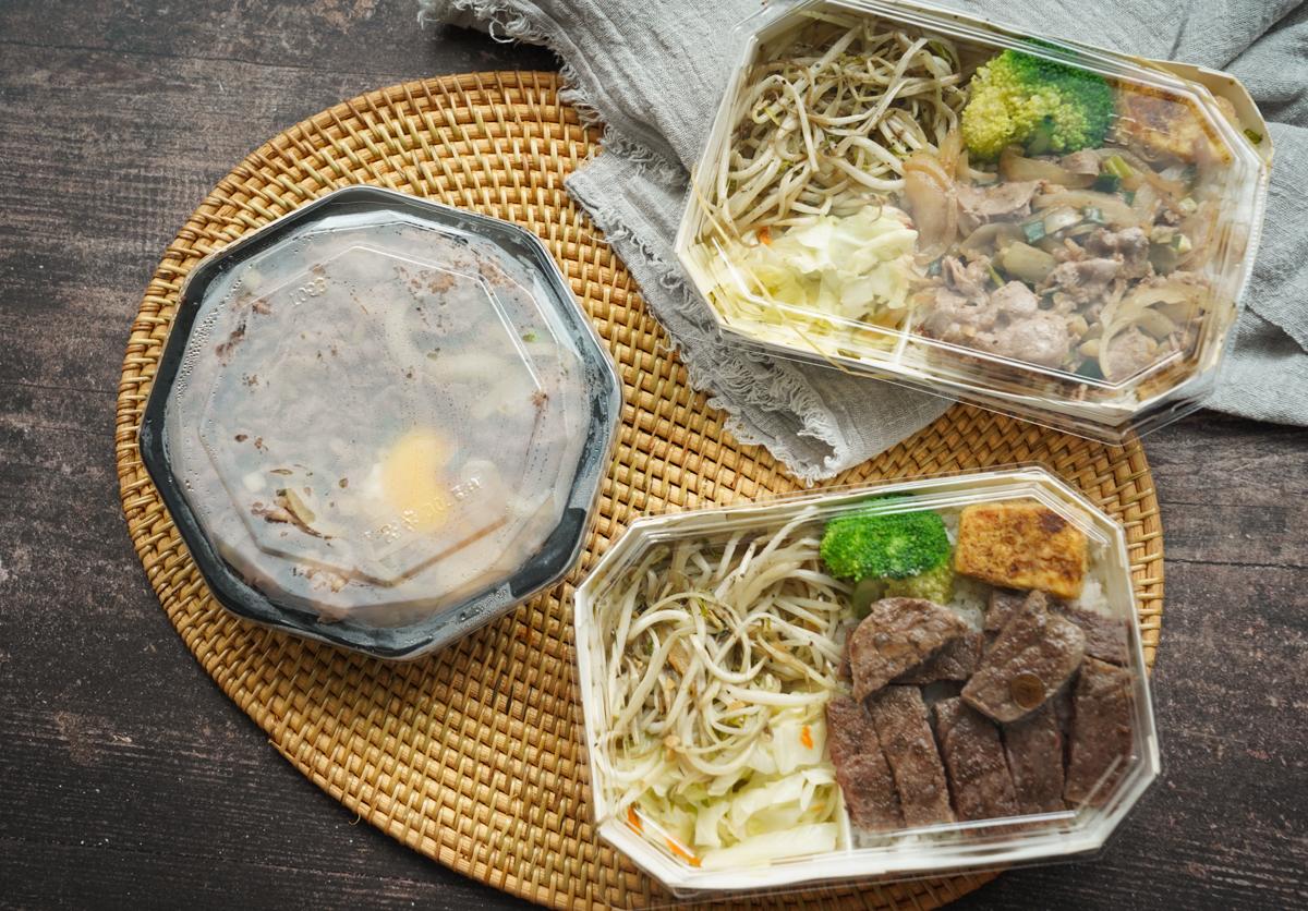 [高雄鳳山美食]花見燒鐵板料理-銅板價月見牛肉丼x不用120元的超嫩牛排便當 @美食好芃友