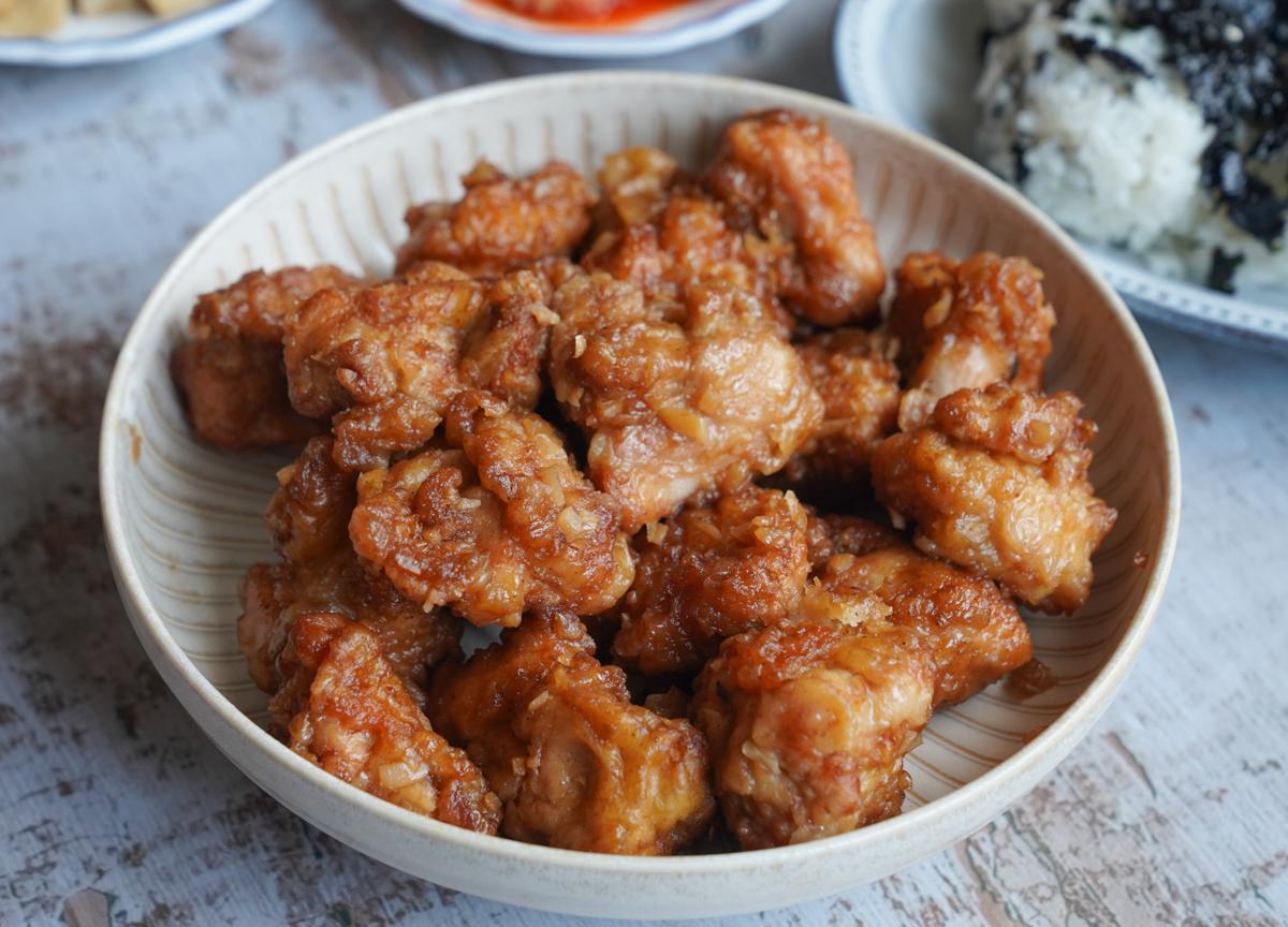 [高雄巨蛋美食]I'm Kimchi南屏店-超優秀韓式外帶餐!必點起司河辣炒雞x韓式炸雞 @美食好芃友