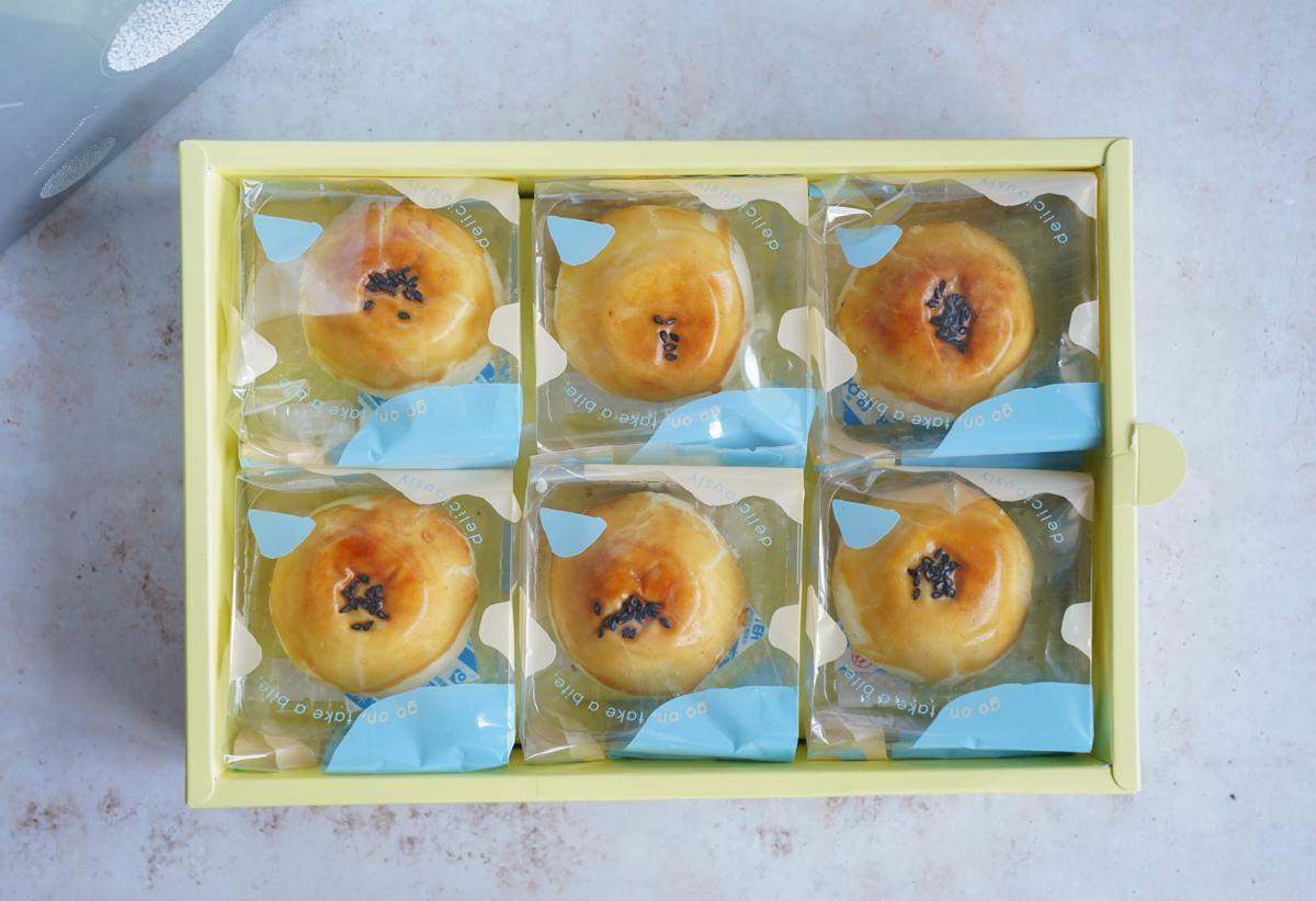 [高雄月餅推薦]晴。晨 Morning Sun Dessert-芋頭控集合!吃爆最強高雄芋頭流心酥 @美食好芃友
