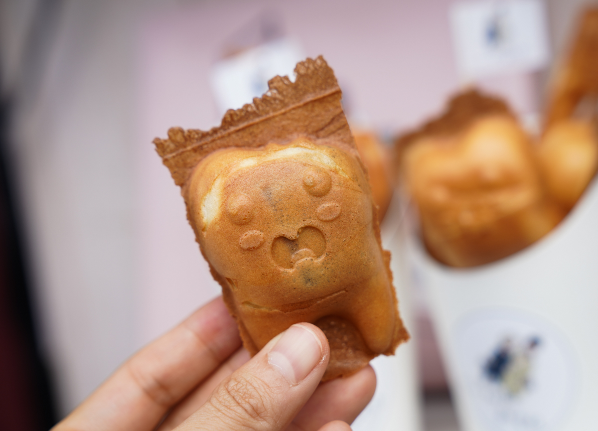 [高雄雞蛋糕]Mini Egg雞蛋糕-左營大路超萌牙齒造型雞蛋糕~還附牙刷超可愛 @美食好芃友