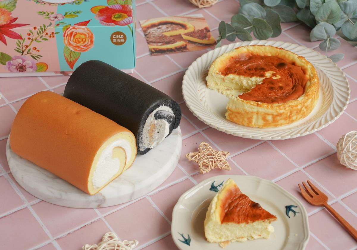 [宅配美食]亞尼克-超熱門伴手禮蛋糕捲!期間限定黑芝麻咔滋咔滋生乳捲x超濃郁巴斯克生起司 @美食好芃友
