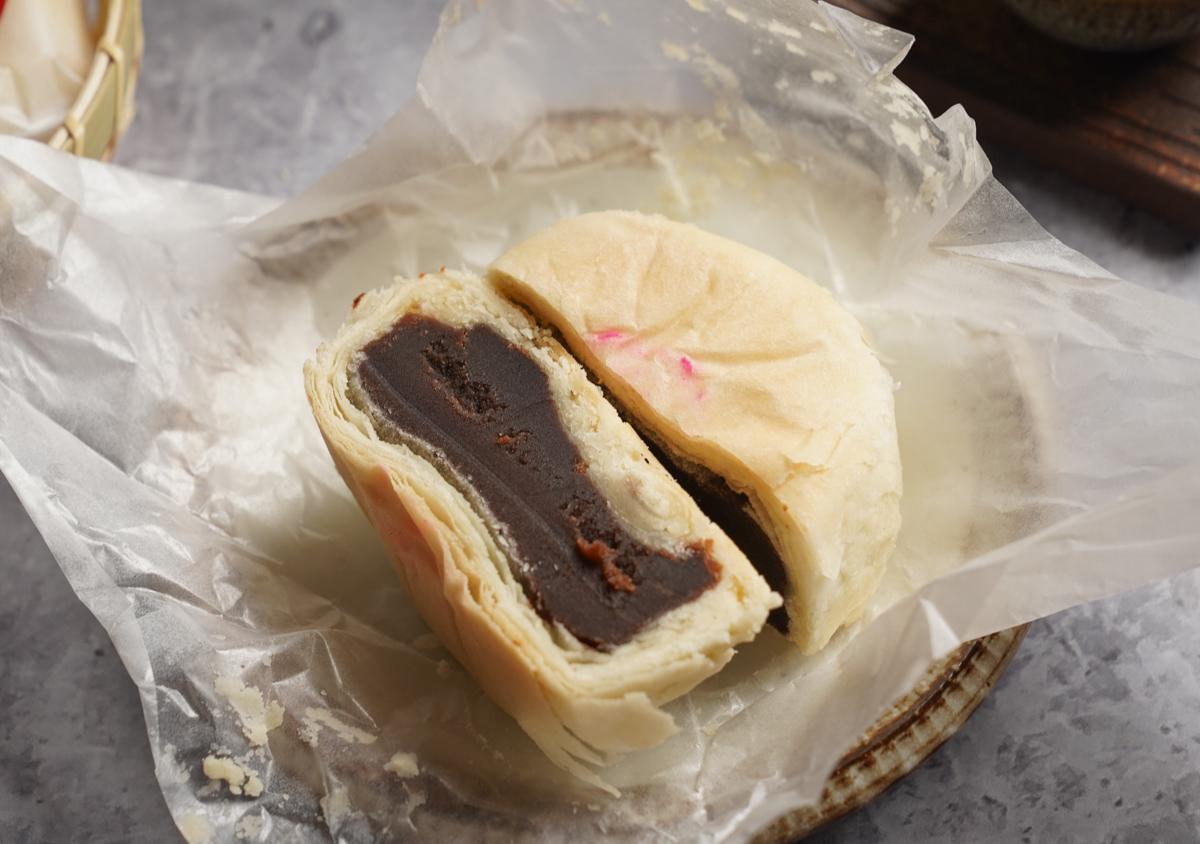 [高雄月餅推薦]祥鈺樓蘇式月餅-就愛這一味!高雄老字號翻毛月餅~老饕激推芝麻、棗泥口味 @美食好芃友