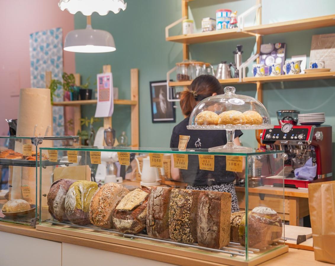 [高雄]麥葉 gårdhus-驚艷瑞典式肉桂捲x裸麥酸種麵包!來個悠閒北歐風麵包下午茶~ @美食好芃友