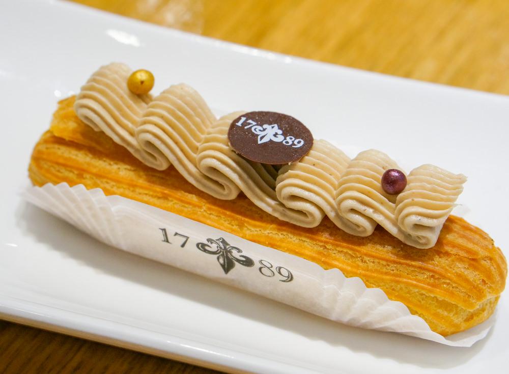 [台北]1789 Café by Cyrille Courant-貴婦級法式閃電泡芙 忠孝新生下午茶推薦 @美食好芃友