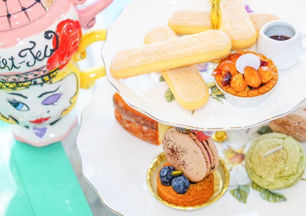 [高雄]馥藍朵私藏甜點-Tiffany藍童話風! 來個浪漫雙層下午茶 婚紗攝影商業攝影派對包場 高雄下午茶推薦 @美食好芃友