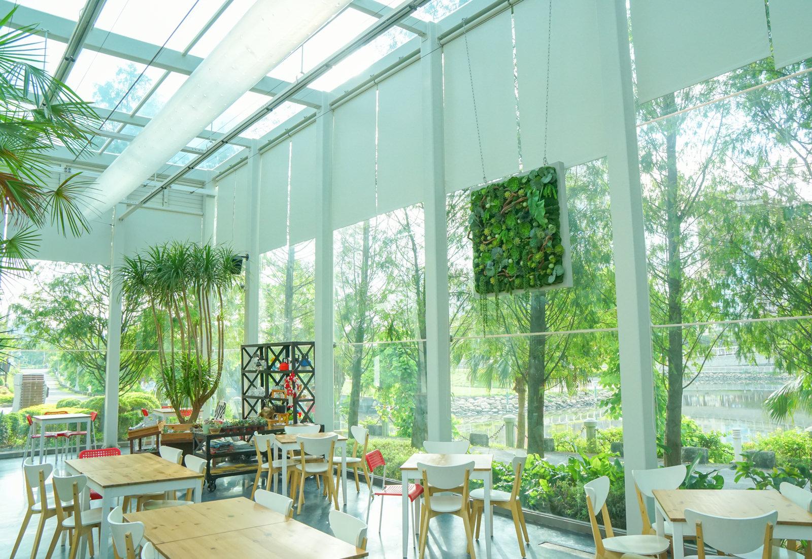 [高雄]沙丘南特Succulent-愛河畔隱藏版絕美玻璃屋! 來個假日悠閒早餐 高雄早午餐推薦 @美食好芃友
