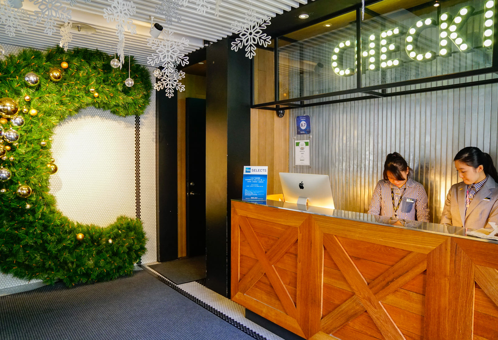 [台北]CHECK inn雀客旅館-超高C/P值!紐約Loft風住宿 捷運站30秒超方便  台北住宿推薦 @美食好芃友
