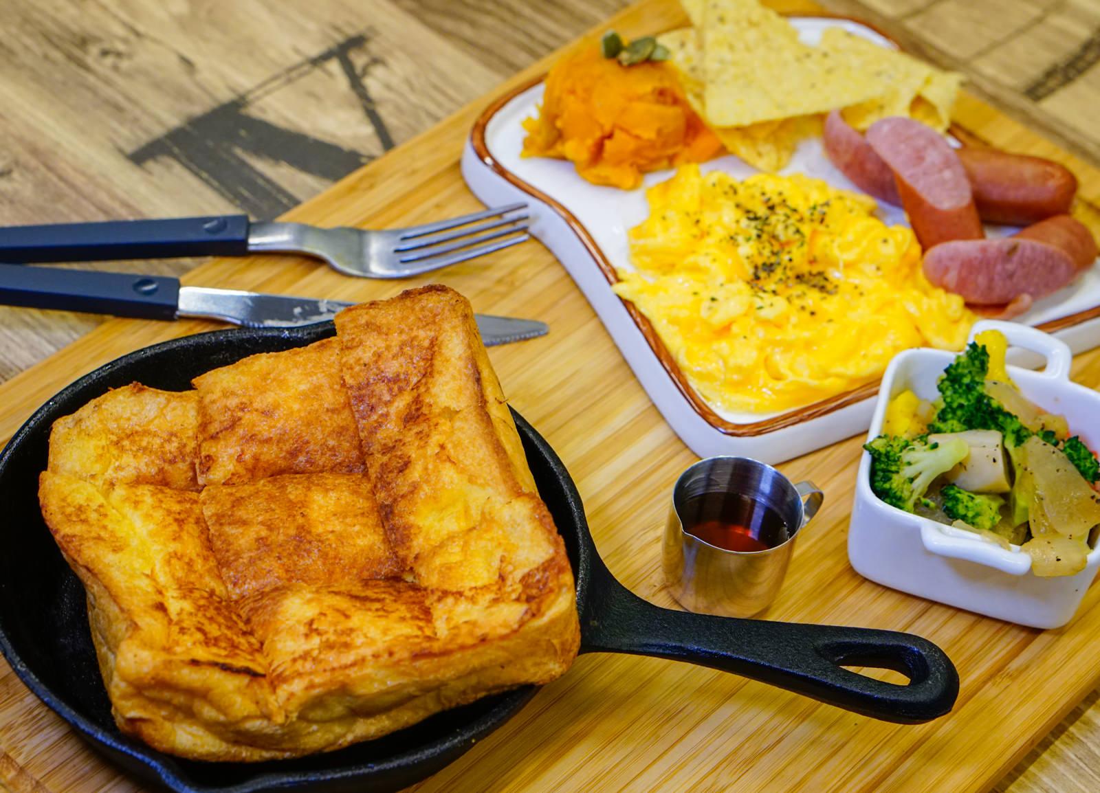 [高雄]原味好食輕食早午餐-兩手無法掌握的超大三明治 品嘗食物簡單美味 高雄早午餐推薦 @美食好芃友