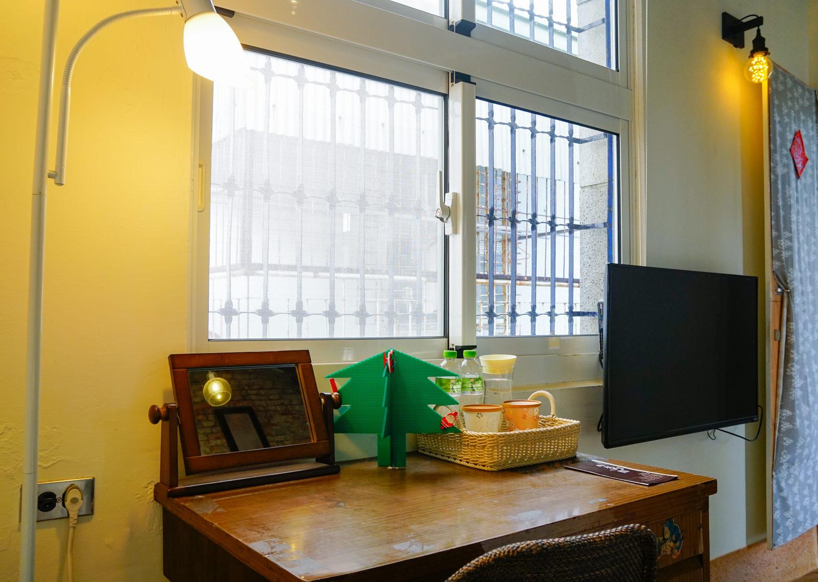 [台南]一緒二 x 木門厝 Moment Cafe-夢幻Tiffany藍x迷人窗光 風靡外國旅客的70年安平古宅民宿  台南安平民宿推薦 @美食好芃友