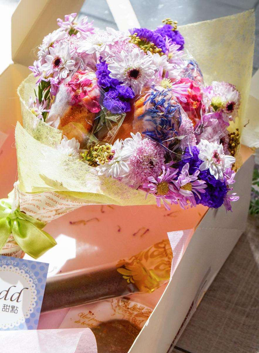 [宅配]賞.甜點  üdd-女孩們尖叫吧! 超浪漫法式甜點花束 可吃可拍照 情人節禮物推薦 @美食好芃友